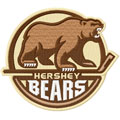 Hershey Bears logo embroidery design