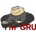 Proud Gru machine embroidery design