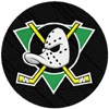 Anaheim Mighty Duck hockey club logo machine embroidery design