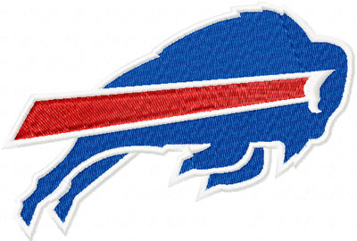 Buffalo Bills Logo machine embroidery design