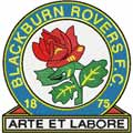 Blackburn Rovers logo machine embroidery design