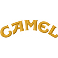 Camel Logo machone embroidery design