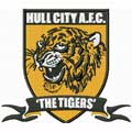 Hull City AFC The Tigers Football Club logo embroidery design