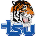 Tennessee State Tigers football logo machine embroidery design