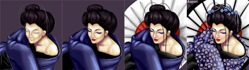 geisha spirit of japan step by step
