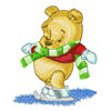 Baby Pooh on winter