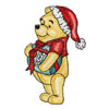 Winnie Pooh get ready for Christmas
