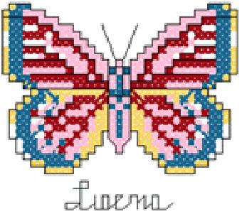 Machine Cross Stitch Patterns :: aHey - Embroidery Designs Online