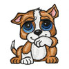 Dog Petshop machine embroidery design