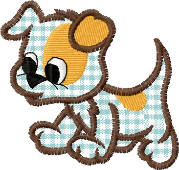 Free Dog Appliques Machine Embroidery For Download Without Registration