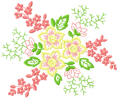 Free Flower Embroidery Designs To Flowers Healthy