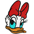 Free embroidery design Donald Daisy