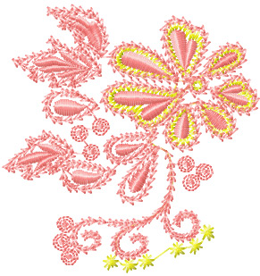 Brush Embroidery flower pattern by mellormom on Cake Central