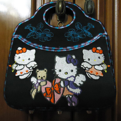 hello kitty outlet bag design embroidered