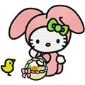 Hello Kitty Happy Easter