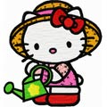 Hello Kitty gardener 1