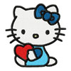 Hello Kitty with heart