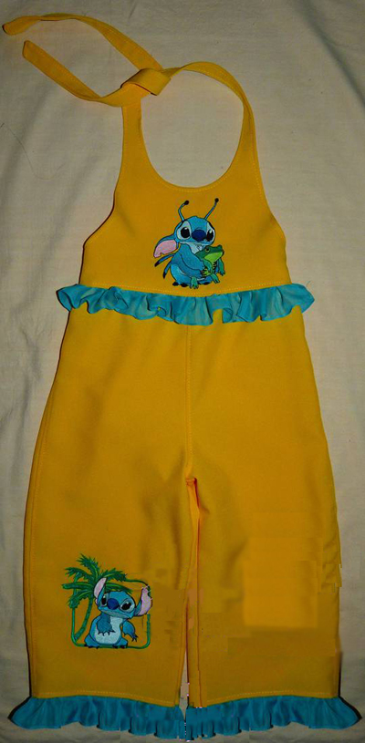 dress with disney embroidery design