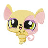 Littlest Pet Shop machine embroidery design