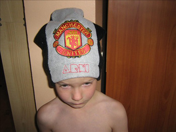photo manchester united emboidery