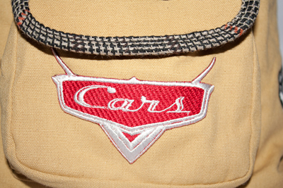 disney cars embroidery logo