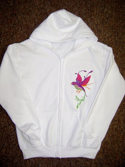 Jackets with embroidery designs