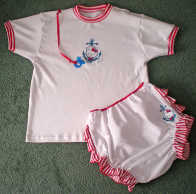 Hello Kitty outfit