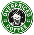 Lego coffee badge 3 machine embroidery design