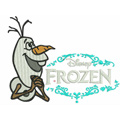 Olaf 5 machine embroidery design