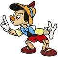 Pinocchio play machine embroidery design