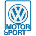 VW motor sport logo machine embroidery design