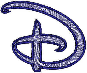 ring spirall fill letter d ttf font