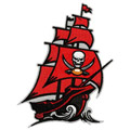 Tampa Bay Buccaneers 2014 logo embroidery design