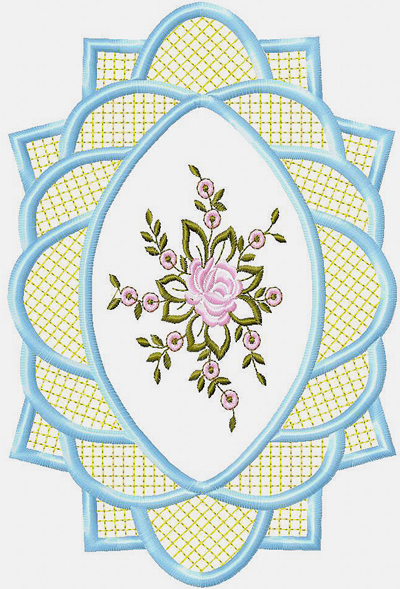 Free Embroidery Motive For Table Cloth For Instant